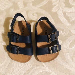 Old Navy Baby Boy Blue Sandals Sz 0-3Mths